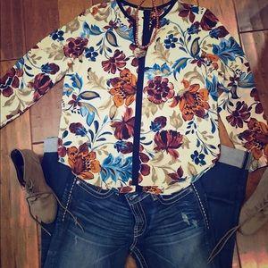 Zara blouse size large